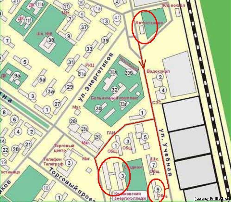 Конаковский энергетический колледж (Конаково) Филиал государственного образовательного учреждения высшего...